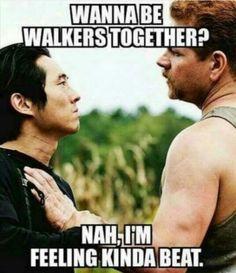 The Walking Dead  #Glenn #Abraham #TWD
