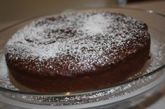 Gluten Free Mud Cake (flourless and refined sugar free)