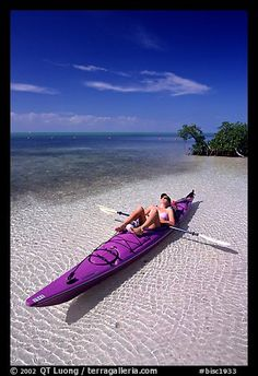 sea kayaking, Elliott Key. Biscayne National Park, Florida. Photo: QT Luong, terragalleria.com