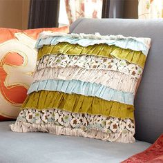 Ruffle Pillow http://www.bhg.com/decorating/decorating-style/flea-market/vintage-finds-handmade-home/?sssdmh=dm17.578908=nwwu013112=3035959890#page=2