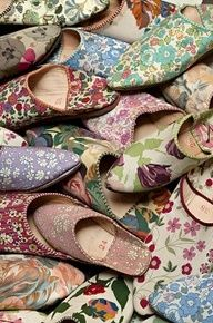 Morrocan slippers-heavenly day