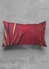 Red oblong pillow: What a beautiful product!