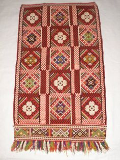 Traditional apron from the Sliven region (Cenral Bulgaria).
