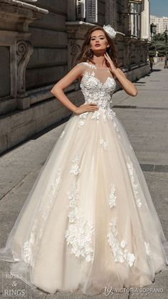 Victoria Soprano 2018 Wedding Dresses #bride #dresses #wedding #weddingdress