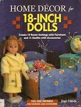 "home decor 18"" doll"
