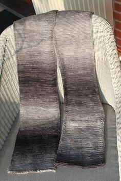 sjaal herringbone steek