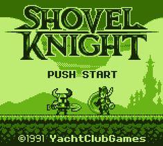 SHOVEL KNIGHT GameBoy @