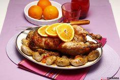 Receita de pato com laranja. Descubra como preparar a receita de pato com laranja de maneira prática e deliciosa com a Teleculinária!