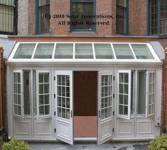 Anderson 400 series casement windows with grills