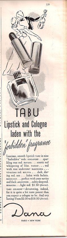 Cosmopolitan, March 1950 » Tabu