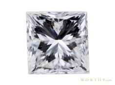 GIA 1.02 CT Princess Cut Solitaire Ring Sold at Auction for $2,083