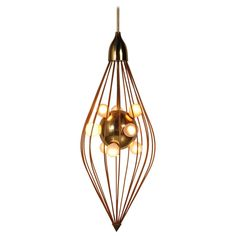 Ceiling Lamp in the Style of Angelo Lelli, Arredoluce, circa 1950   See more antique and modern Chandeliers and Pendants at https://www.1stdibs.com/furniture/lighting/chandeliers-pendant-lights