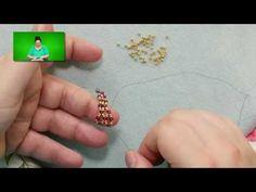 Video: Flat Vertical Netting Stitch from Jill wiseman - #Seed #Bead #Tutorials