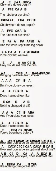 pompeii chords by bastille