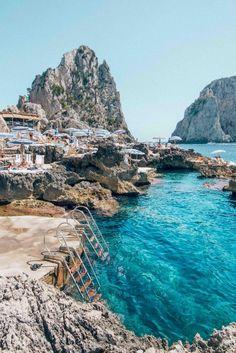 In Capri, Italy.