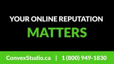 Your Online Reputation Matters - Convex Studio Say Word, You Dont Care, Reputation Management, Search Engine Marketing, Local Seo, Word Of Mouth, Positive Messages, Small Businesses, Don't Care