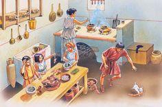 """""""Roman kitchen"""", Peter Dennis"""
