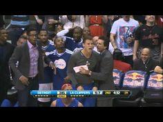 NBA Social Media Awards 2013 vergeben! Jim Ross on DeAndre Jordan posterizes Brandon Knight