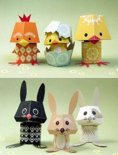 Mibo Paper Toys: