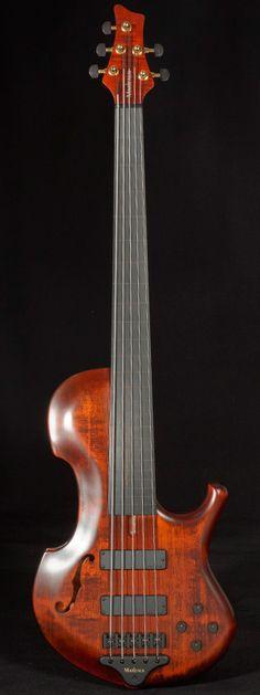 Marleaux Contra Bass 5-string fretless #14...