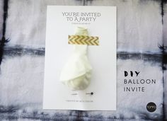 Bought to you byNuffnangand Spotlight–Home of National Craft Month 1-31st March.  Need a super easy party invitation that will pop? I've got just the thing. Literally. Try thi…