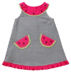 Newborn Watermelon Gingham Sundress and Panty