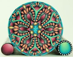 kaleidoscope cane- what a beauty!