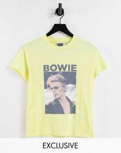Reclaimed Vintage inspired unisex Bowie licencing slim fit t-shirt Bowie, Vintage Inspired, Asos, Slim, Unisex, Fitness, T Shirt, Shopping, Women