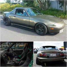 "topmiata: ""@lifeasnoujan from #newzealand | #TopMiata #mazda #miata #mx5 #eunos #roadster"""