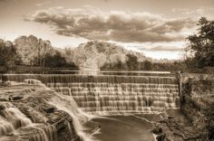 Triphammer Falls Revisited (by dennoit, via Flickr)