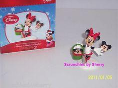 Disney Minnie's Custom Cookies Dept 56 Christmas Villag