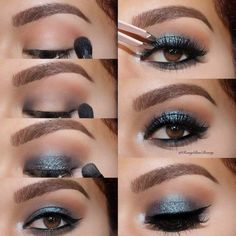How to Smokey Eye Makeup And#8211; Top 21 Pictorial for 2018 ★ See more: https://makeupjournal.com/how-to-smokey-eye-makeup/