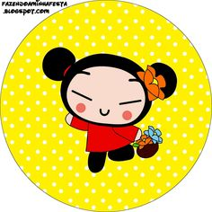 Imprimibles de Pucca 2. | Ideas y material gratis para fiestas y celebraciones Oh My Fiesta! Birthday Party Themes, Girl Birthday, Chinese Party, Cartoon Books, Baby Girl Dresses, Party Printables, Scrapbooks, Hello Kitty, Doodles