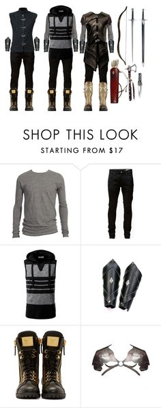 Between Two Worlds by ashley-huggins-1 on Polyvore featuring Golden Goose, Giuseppe Zanotti, Jack & Jones, S.W.O.R.D. and CO