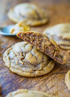 Softbatch Cookie Butter Brown Sugar Cookies - now I know what to do with that cookie butter in my pantry!!