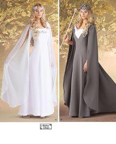 Déguisement Costume - Robe Médiévale - Fée - Patron Simplicity 7749 - 9€60