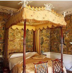 Canopy Bed at Saltram House