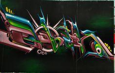by Six Pack - BIG (Battle Internationale de Graffiti) - Lille - 2014