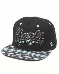 0ce0732eb6e The Zephyr Native snapback for the San Jose Sharks... this was released in