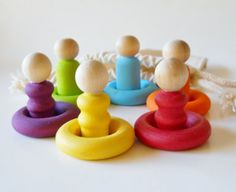 Rainbow colors by Jeannie on Etsy