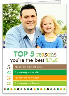 cute father's day card from shutterfly.  i think there is even an offer for 5 free cards!