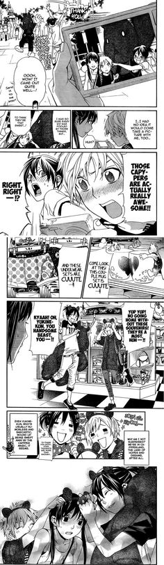 Noragami Chapter 41 Capypa Land Yukine, Yato and Hiyori