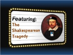 This interactive PowerPoint is PERFECT for introducing students to ANY tragedy written by Shakespeare! It has 51 slides jam packed with pictures, notes, explanations, practice questions with delayed answers, diagrams, and even a video showing comic relief.    This will make Shakespeare seem easy! It's designed to help any student fully comprehend the actual texts of Shakespeare without having to rely on modified versions of the plays.