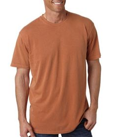 """Dress yourself up perfectly in casual style with a long-sleeve tee that has superb softness. Chouinard 9030 - Adult Heavyweight Garment-Dyed Cotton Tee is made of preshrunk 100% heavyweight garment-dyed cotton, which has wonderful performance in durability, breathability and sweat absorbency. With shoulder-to-shoulder taping, this tee has stright shape and classic appearance, perfectly keeping you in a neat and casual look with a 3/4"""" ribbed collar."""