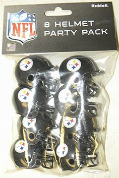Riddell Pittsburgh Steelers Team Helmet Party Pack >>> To view further for this item, visit the image link.