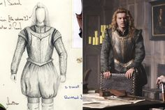 Xavier Samuel	 ...	 Earl of Southampton and costume design by Lisy Christl | Anonymous | 2011