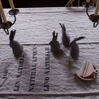 Hut up Felt Rabbits