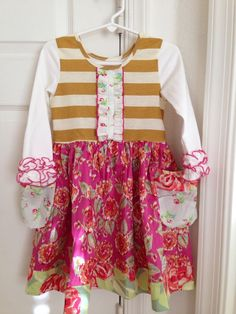 Sweethoney sweet honey apple cider dress 4 4t usa sold out boutique