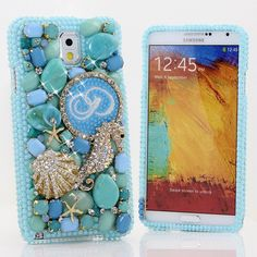 Bling Cases, Crystallized monogram Giraffe Ocean Seahorse case for iphone 5, iphone 5s, iphone 6, Samsung Galaxy S4, S5, Note 2, Note 3, LG, HTC, Sony – LuxAddiction.com