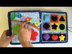 DIY Busy Book #2 - Quiet Book Idea - Busy Book For QIYA - YouTube